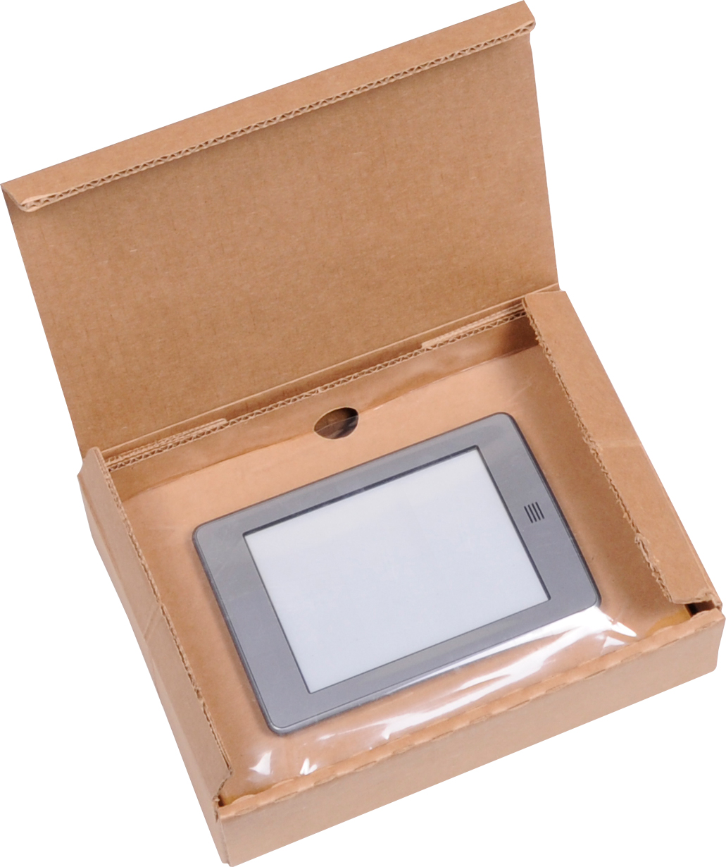 small tablet retention package